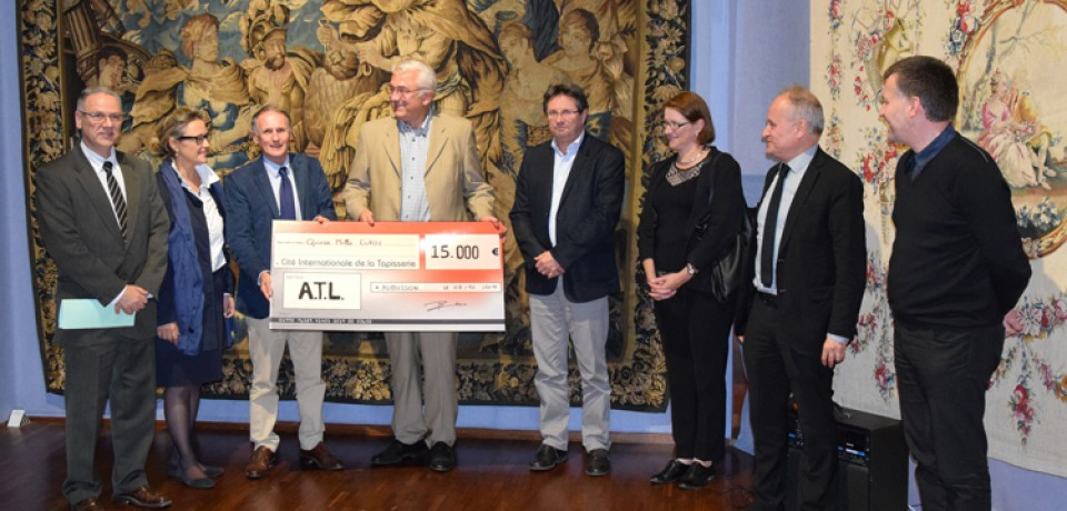 Le soutien financier d'ATL aux actions de la Cité de la Tapisserie d'Aubusson