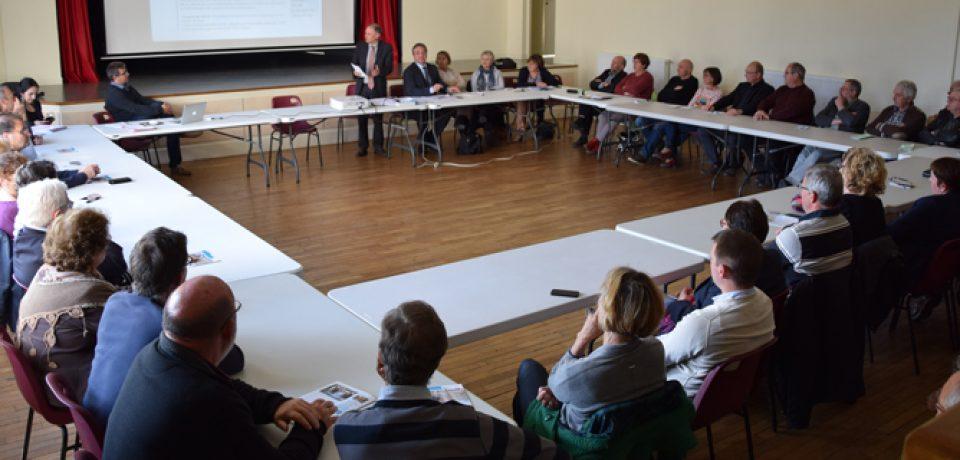 Nouvelle Rencontre Territoriale sur les cantons de Boussac et Bonnat