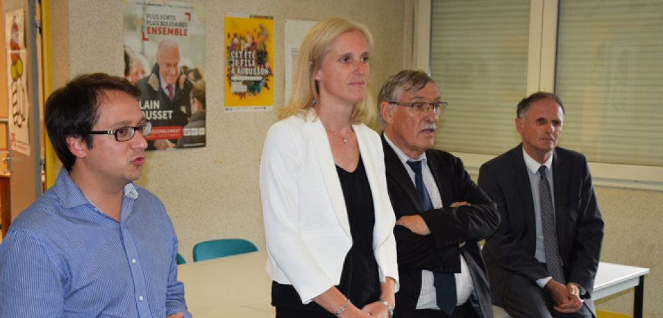 Ségolène NEUVILLE relaye la politique de solidarité menée par le Gouvernement
