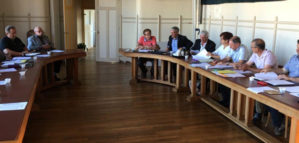 Réunion cantonale avec l'Unité Territoriale Technique de Bourganeuf