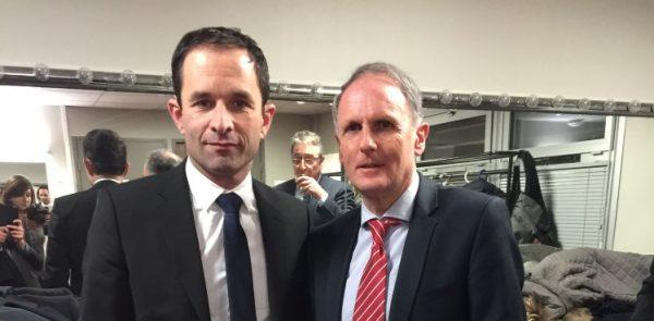 Réunion publique avec M. Benoît HAMON, candidat à l'élection présidentielle, jeudi 9 février 2017, à Guéret