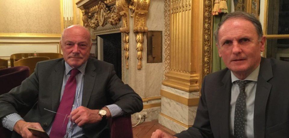 Réunions de travail avec M. Alain ROUSSET, Président de la Région Nouvelle Aquitaine