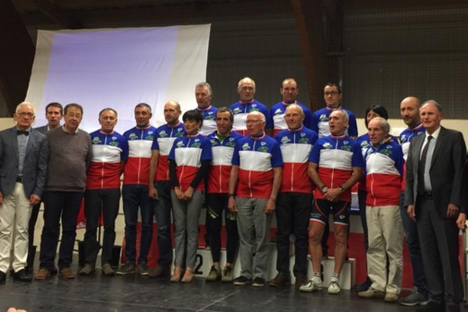 Saint Dizier Leyrenne a accueilli le championnat national cycliste des Élus les 15, 16 et 17 septembre 2017.