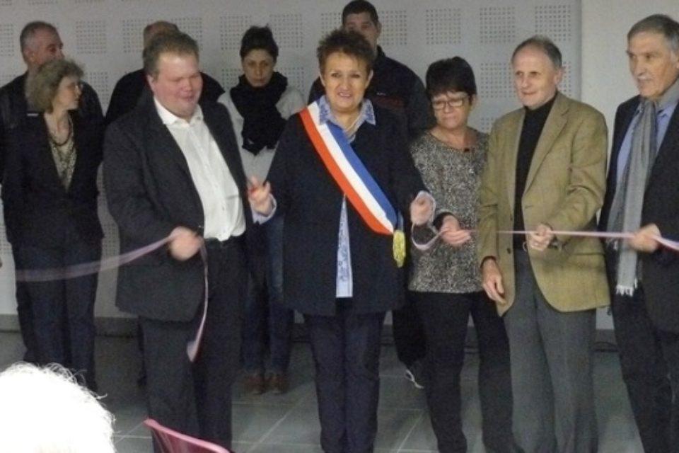 Samedi 16 décembre 2017. Inauguration de la salle socio-culturelle « Mille clubs » à Mourioux-Vieilleville.