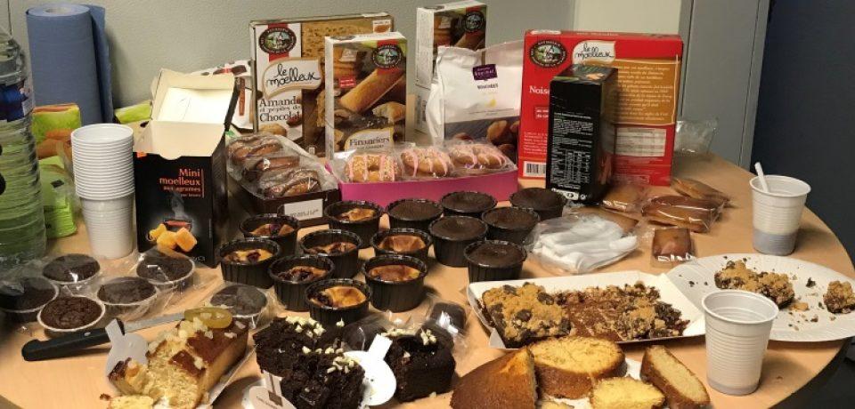 Visite d'une entreprise locale en phase de développement vendredi 1er décembre 2017 – Pâtisserie Les Comtes de la Marche – La Celle sous Gouzon.