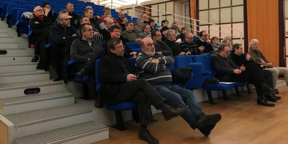 RENCONTRE TERRITORIALE DU SÉNAT : Communauté de communes CREUSE CONFLUENCE  Boussac – LUNDI 4 décembre 2017 – SALLE DE CINÉMA