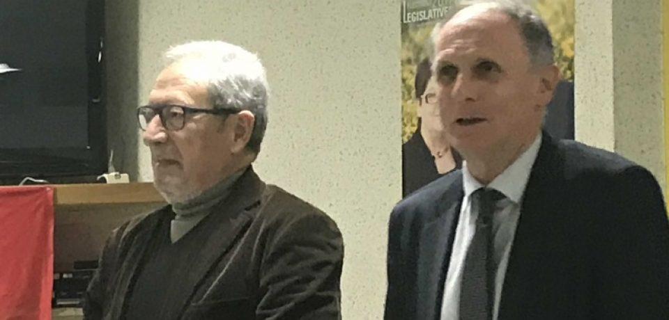 Réunion du 8 décembre 2017  –   Conférence de M. René SOUCHON
