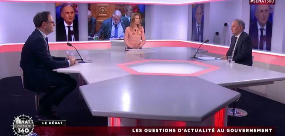 Débat public sénat 360 : Débat sur les questions d'actualité au gouvernement