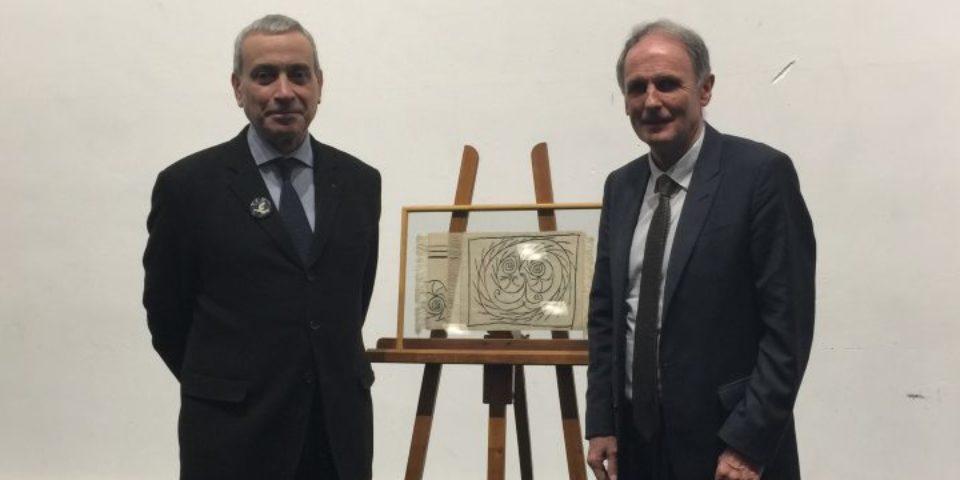 Vendredi 23 mars 2018. Sous la présidence de M. Laurent STEFANINI, Ambassadeur de France auprès de L'UNESCO