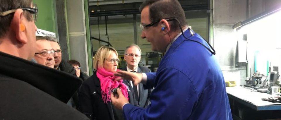 Lundi 19 mars 2018 : RENCONTRE TERRITORIALE DU SÉNAT – Communauté d'Agglomération du GRAND GUÉRET- VISITE D'ENTREPRISE  AMIS