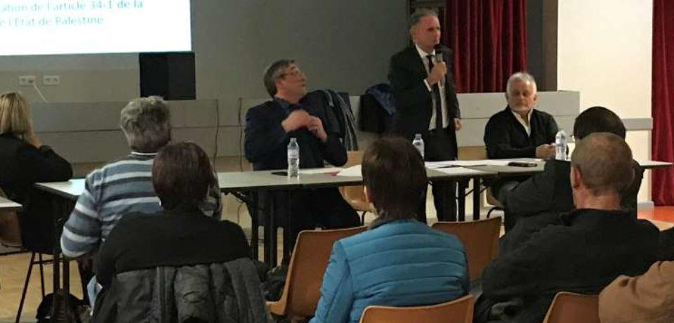 RENCONTRE TERRITORIALE DU SÉNAT  Communauté d'Agglomération du Grand Guéret- AJAIN– Lundi19 mars 2018 – Salle polyvalente.