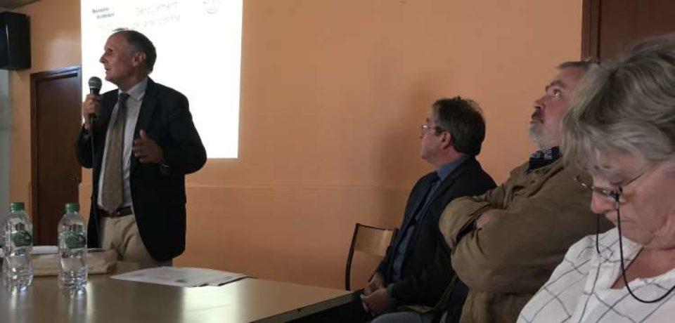 RENCONTRE TERRITORIALE DU SÉNAT- Communauté de communes CREUSE GRAND SUD  La Courtine – LUNDI 28 MAI 2018  – SALLE DES ASSOCIATIONS