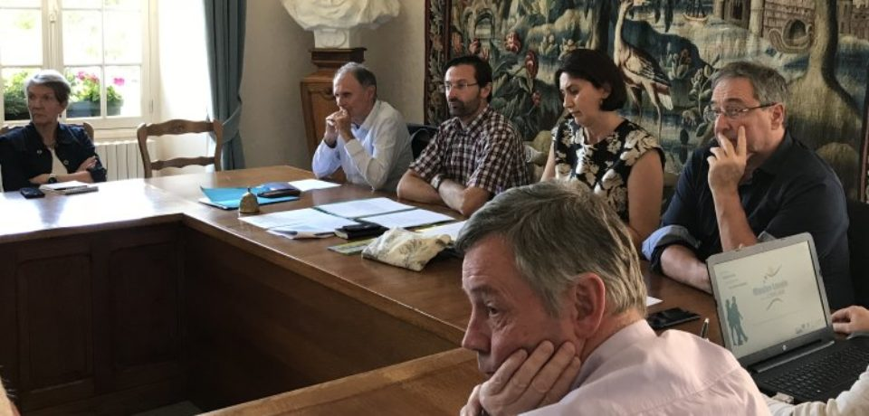 25 juin 2018. réunion cantonale de Felletin.