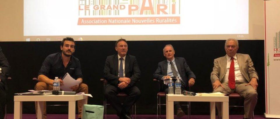 4 juillet 2018. Assemblée générale de l'Association Nationale Nouvelles Ruralités au Ministère des Relations avec le Parlement.