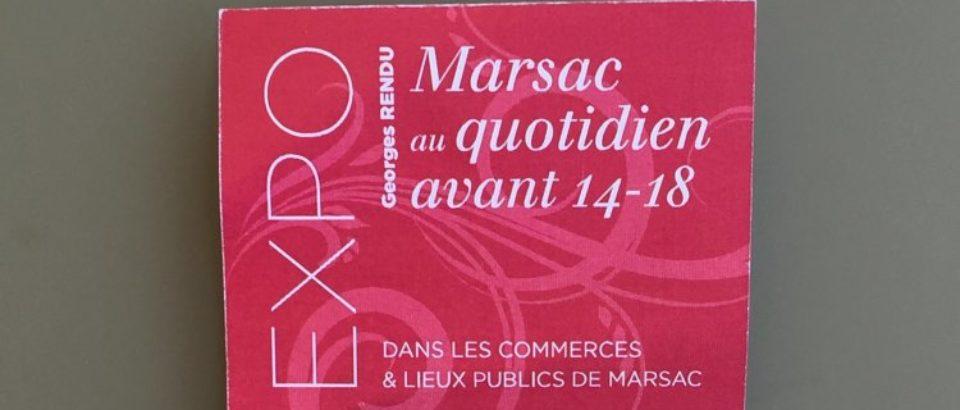 Samedi 21 juillet 2018. Marsac. Vernissage d'une exposition de photos.