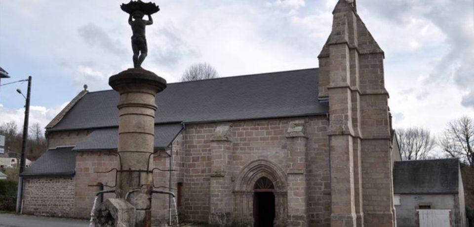 3 août 2018 – Inauguration des travaux de l'église de Faux la Montagne