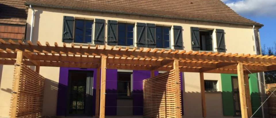 7 septembre 2018. Inauguration de logements sociaux communaux à ST SILVAIN sous TOULX.