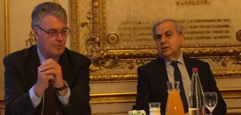 25 octobre 2018. Audition de Jean-Paul DELEVOYE, haut-commissaire à la réforme des retraites par la délégation sénatoriale à la prospective.
