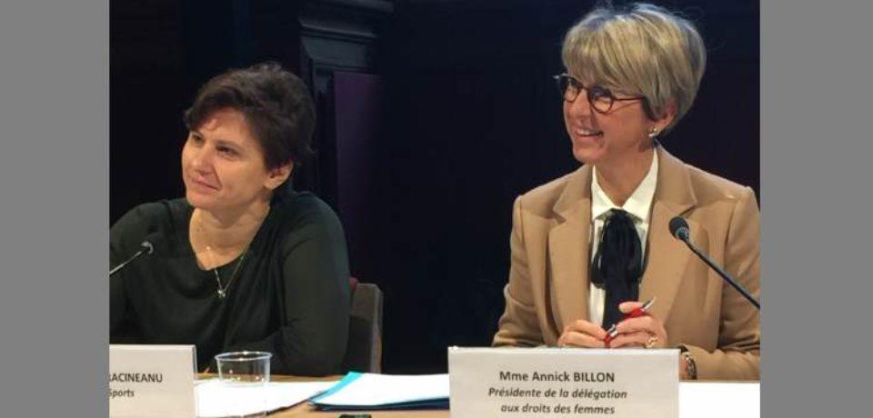 14 décembre 2018. Délégation sénatoriale aux droits des femmes.