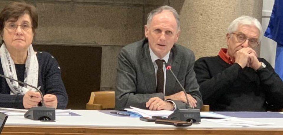 RÉUNION CANTONALE DE BOURGANEUF –  VENDREDI 7 DÉCEMBRE 2018 – mairie de Bourganeuf