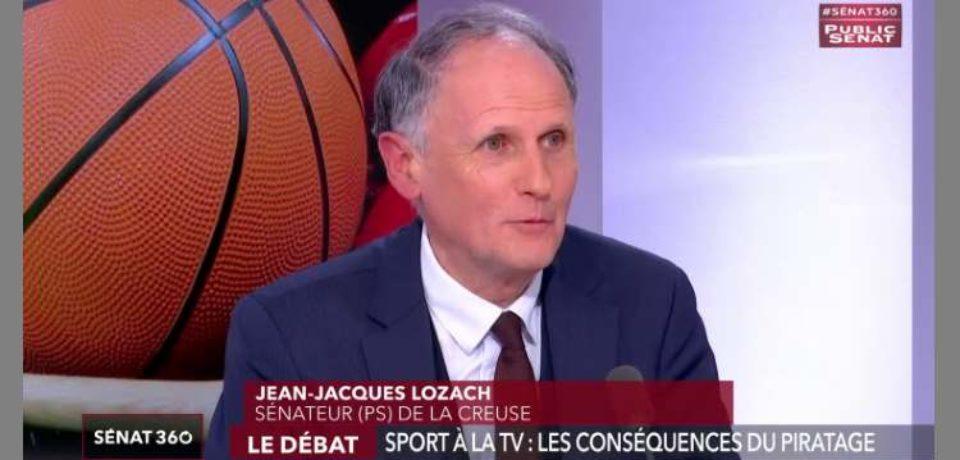 29 janvier 2019 sur Sénat 360 – Le débat – Sport à la TV : Les conséquences du piratage