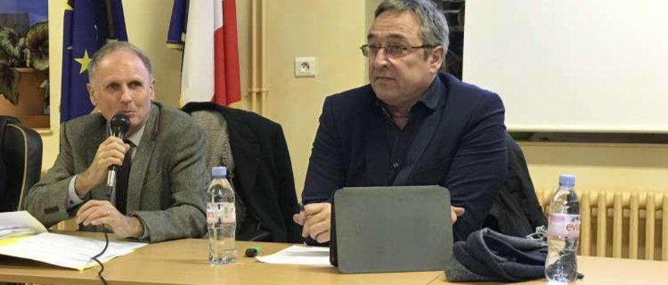 Lundi 29 Janvier 2019 à Saint-Dizier Leyrenne – Rencontres Territoriales du Sénat avec les élus creusois.