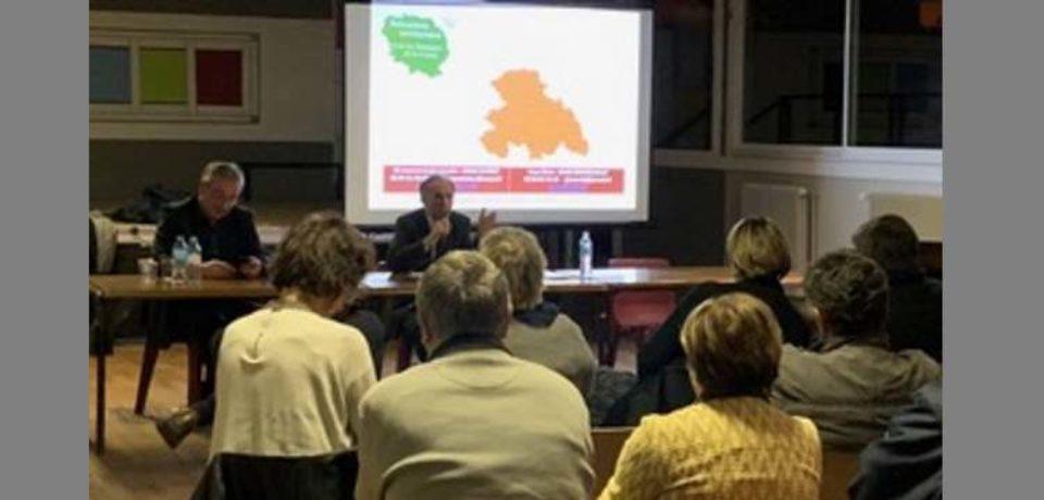 RENCONTRE TERRITORIALE DU SÉNAT  Communauté de communes CREUSE CONFLUENCE  Évaux les Bains – LUNDI 18 FÉVRIER 2019  – MAISON DES JEUNES–