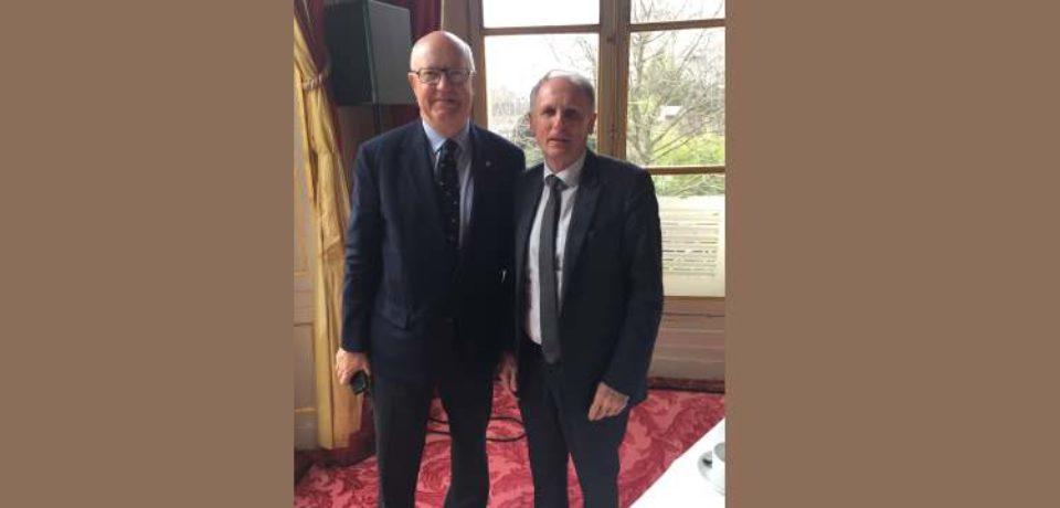 20 mars 2019. Entretien avec Jean-Lou CHARON, président de la fédération française de Golf.