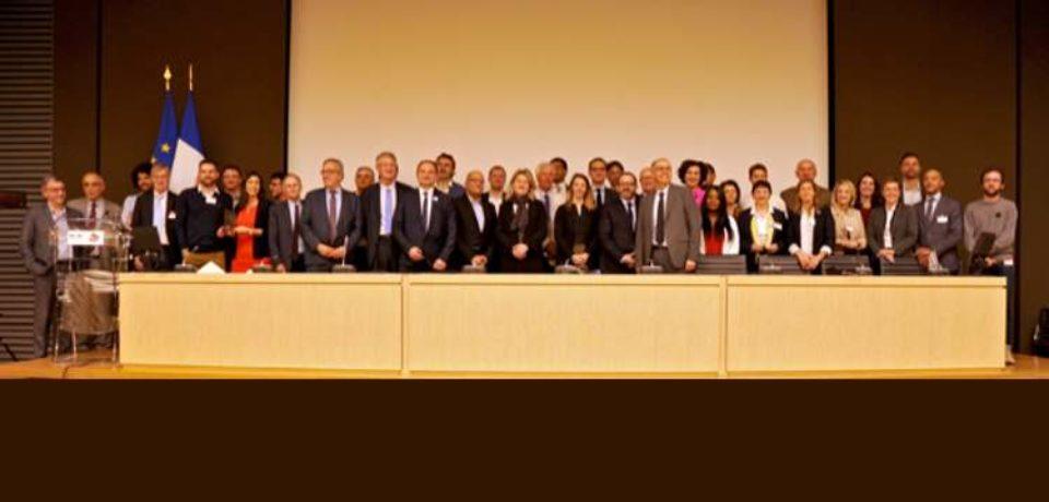 10 avril 2019. 6ème édition des Trophées Sport & Management – Cérémonie de Remise des Trophées à l'Assemblée nationale.