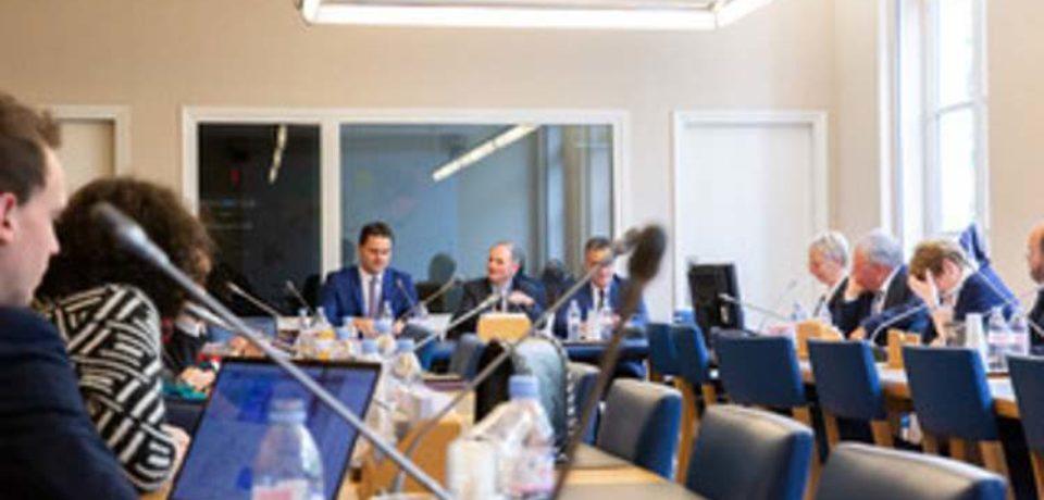 10 avril 2019. Groupe Ruralités du Sénat. Audition de Thibaut GUIGNARD,  Président de Leader France .