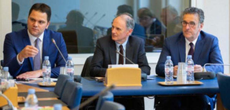 15 avril 2019. Courrier relatif à la non-consommation des fonds européens, signé par 160 parlementaires.