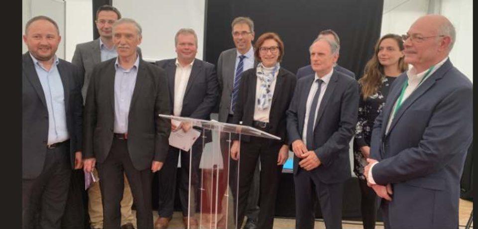 14 juin 2019. Comité de pilotage du Plan Particulier pour la Creuse à l'aérodrome de Lépaud.