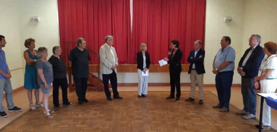 29 août 2019. Remise de la médaille du Tourisme, échelon Argent, à Madame Liliane SPRINGER, au titre de la promotion du 14 juillet 2019