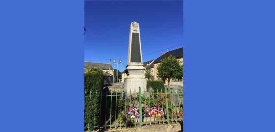 29 septembre 2019. Commémoration de la Saint-Michel à Saint-Agnant-près-Crocq.