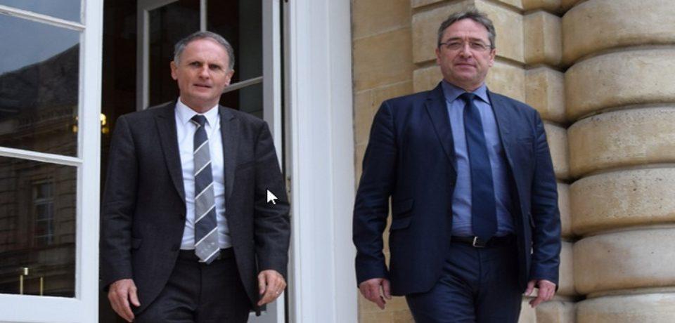 Communiqué de presse – 6 mars 2018 de Jean-Jacques LOZACH et Éric JEANSANNETAS  Sénateurs de la Creuse : Rencontres territoriales du Sénat