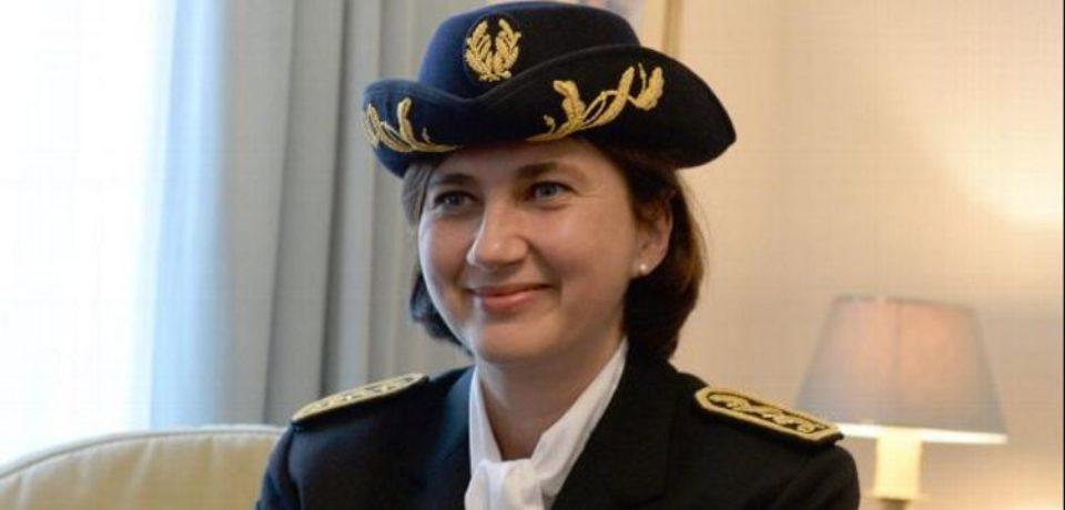 28 août 2018. Départ d'Isabelle ARRIGHI, sous-Préfète d'Aubusson, à la sous-préfecture.