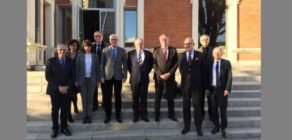 17 janvier 2019. Rencontre à Clermont-Ferrand des Bureaux des associations Urgence POLT et Objectif CAPITALES.