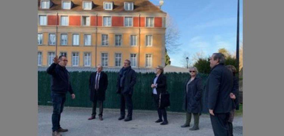 Évaux les Bains – LUNDI 18 février 2019  VISITE D'ENTREPRISE  Établissement thermal d'Évaux les Bains.