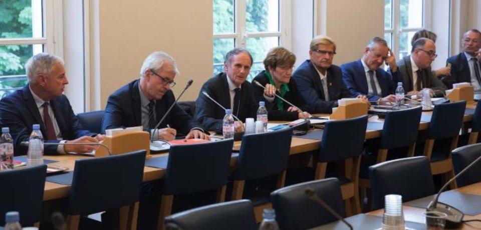 21 mai 2019. Audition du groupe Ruralités au Sénat par le Commissariat Général à l'Égalité des territoires. Relevé de proposition.