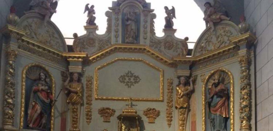 22 juin 2019. Inauguration de la restauration de l'église et de l'aménagement de centre-bourg de Magnat l'Étrange.