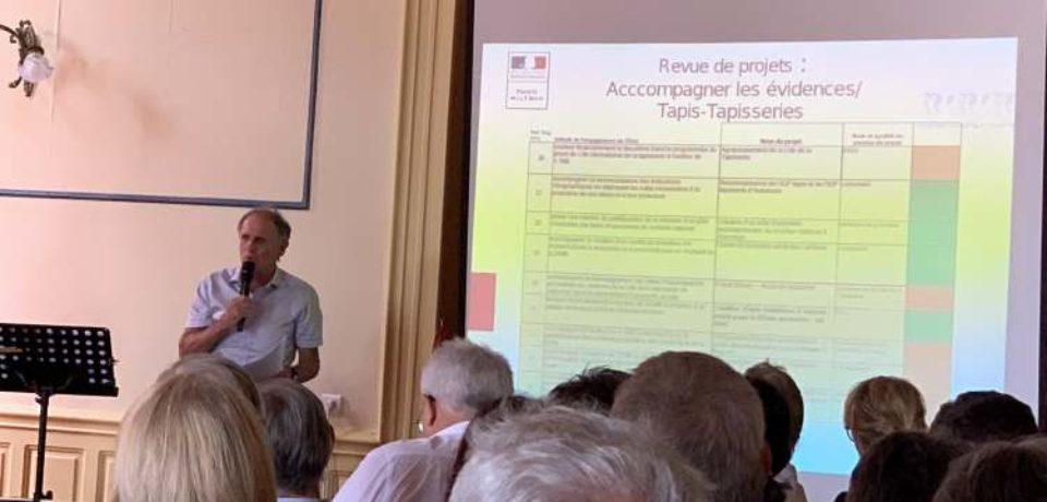 12 juillet 2019. États généraux du Plan particulier pour la Creuse, à Évaux-les-Bains