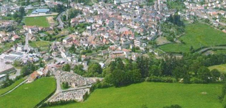 6 juillet 2019. Inaugurations de travaux d'aménagement et d'amélioration dans le centre-bourg d'Auzances.