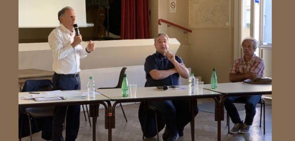 RENCONTRE TERRITORIALE DU SÉNAT Communauté de Communes Monts et Vallées Ouest Creuse FURSAC – LUNDI 17 JUIN 2019 – salle des Fêtes