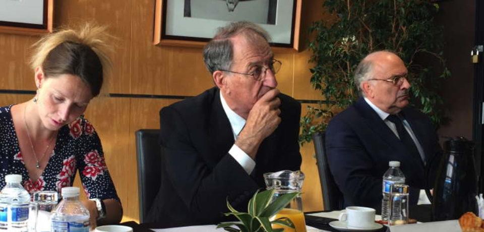 10 juillet 2019. Rencontre avec Denis MASSEGLIA, Président du Comité National Olympique et Sportif Français (CNOSF).