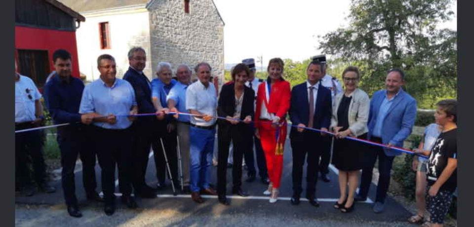 30 août 2019. Inauguration de la salle d'activités socio-culturelles de Blaudeix.