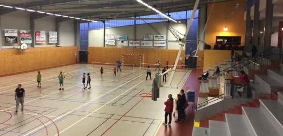 18 octobre 2019. Inauguration de l'extension du complexe sportif des 2 vallées, de ses nouveaux équipements et de l'atelier intercommunautaire.