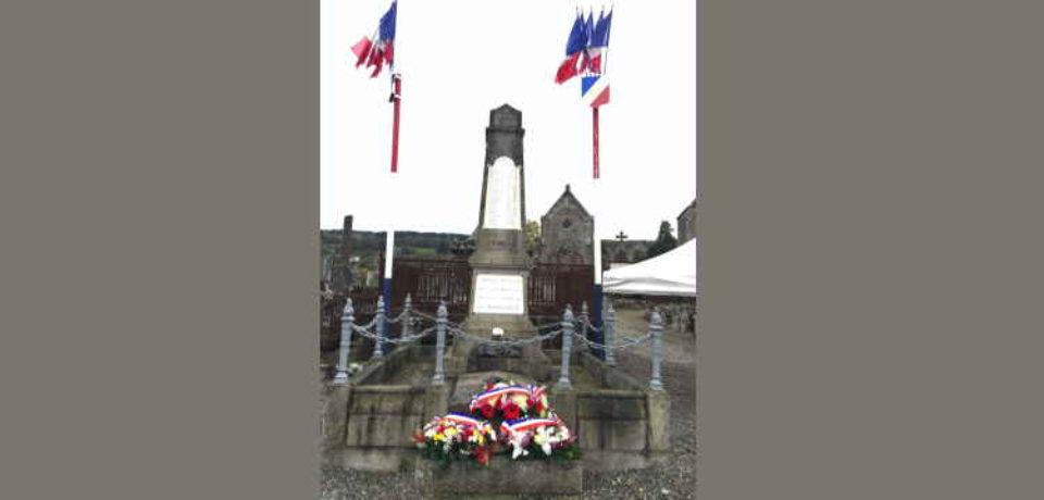 11 novembre 2019. Cérémonie de commémoration à Bourganeuf.