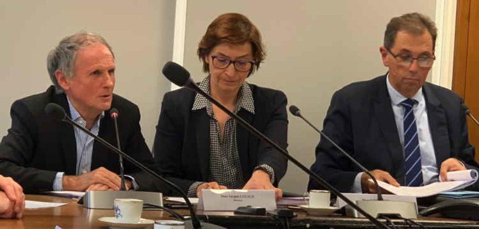 25 novembre 2019. Réunion du Comité de Pilotage du Plan Particulier pour la Creuse.