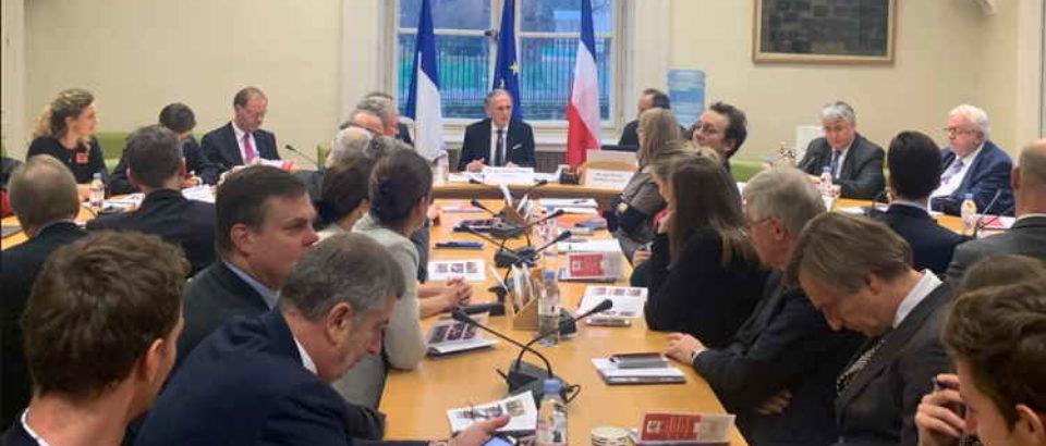3 décembre 2019. Colloque sur le thème des « 70 ans de relations interparlementaires et de coopération bilatérale entre la France et les Pays-Bas ».
