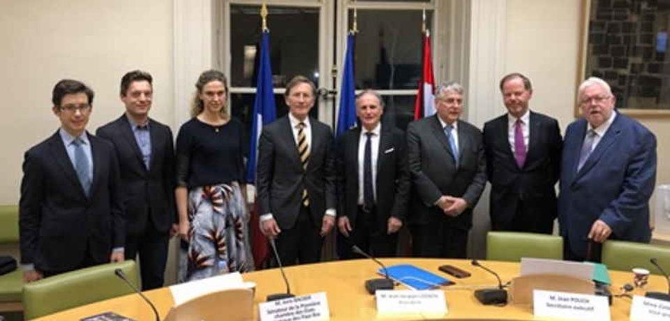 Colloque du 70ème anniversaire du groupe interparlementaire d'amitié France – Pays-Bas – Mardi 3 décembre 2019